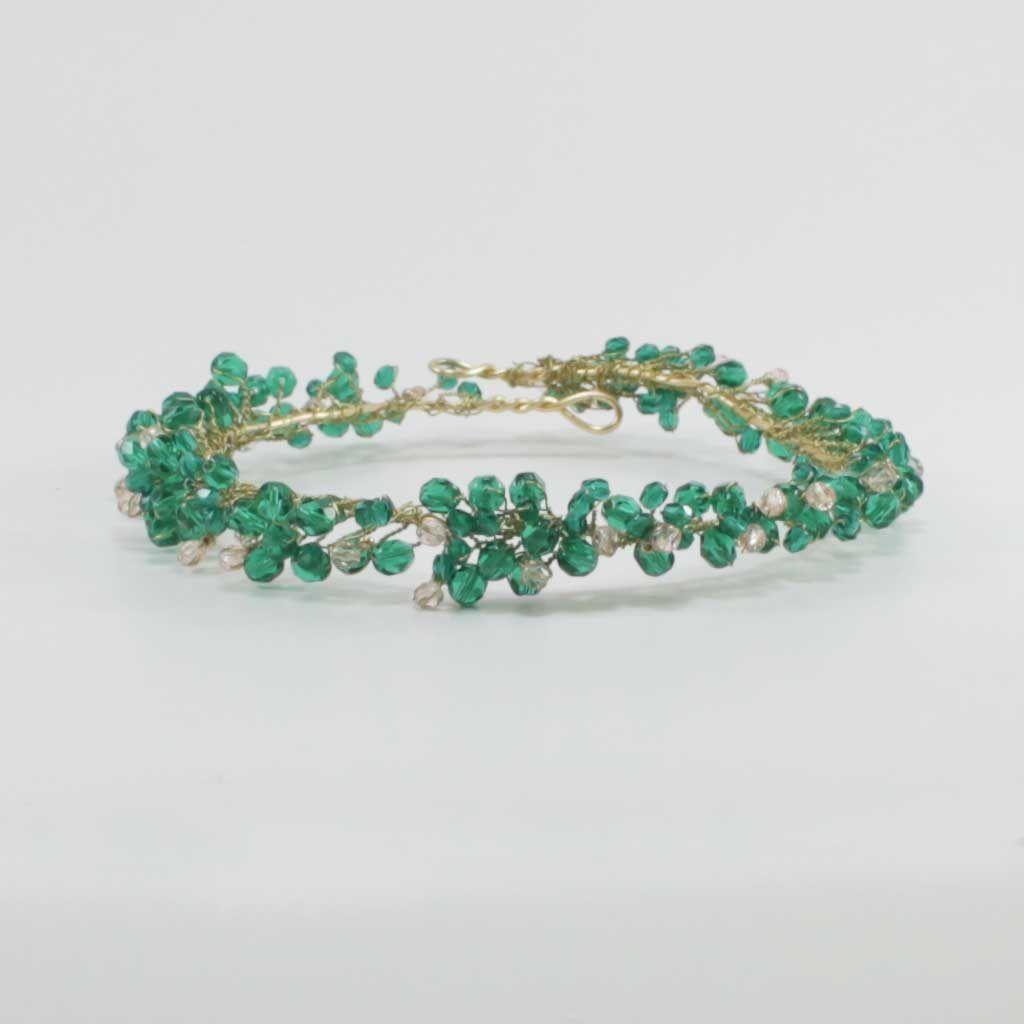 Tocado-Acacia-Verde
